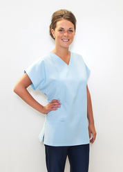 G008 LADIES THEATRE SCRUB TOP